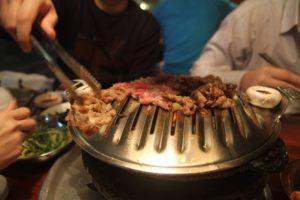 Món thị nướng cực ngon ở Hàn