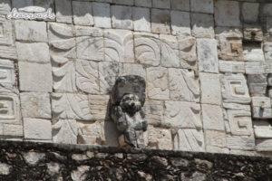 Những hình chạm khắc khắc trên đá của nền văn minh Maya còn sót lại
